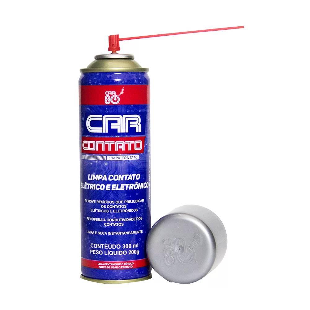 12 Limpa Contato Eletrônico Spray Car Contato Car80 300ml