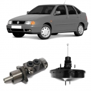 Kit Cilindro Mestre e Hidrovácuo VW Polo Classic 1998 a 2002