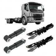 Kit Completo Amortecedor Cabine Caminhão Volvo VM Todos