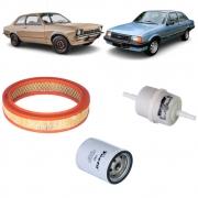 Kit completo filtros Chevette Chevy e Marajó Gasolina todos