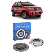 Kit Embreagem Ford Ecosport 1.6 Zetec Flex 2007 a 2012 - SACHS