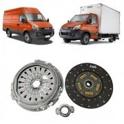 Kit embreagem Iveco Daily 45S14 70C16 3.0 16V EURO V VALEO