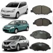 Pastilha Freio Nissan Livina e Versa 1.6 08/10 Dianteiro