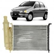 Radiador Fiat Palio 1.0 sem ar 96/2000 c/ reservatório