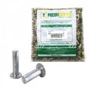 Rebite Lona Freio 10x14 Maciço Alumínio Rbb-5114 Milheiro
