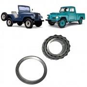 Rolamento Roda Traseiro Willys F75 Jeep até 64
