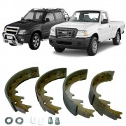 Sapata Freio Blazer S10 2.5/2.8 4x2/4x4 95/11 Ranger 05 /11