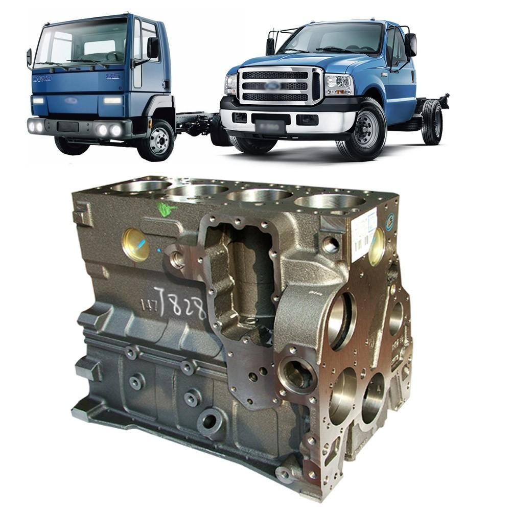Bloco Motor Cargo 712 814 815 915 F250 F350F4000 Cummins B 4C 3.9