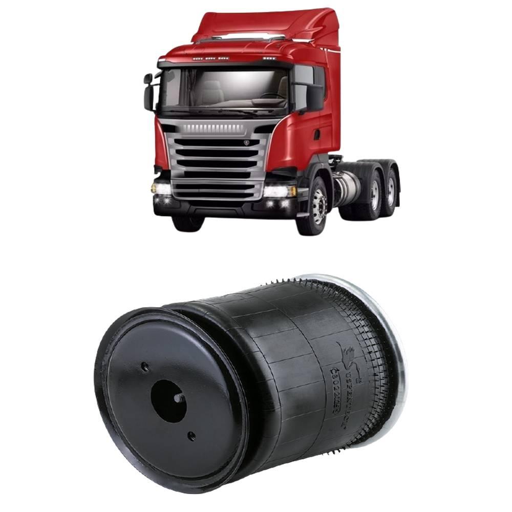 Bolsa de Ar Suspensora do 3º Eixo Scania Série 4/5 até 2010