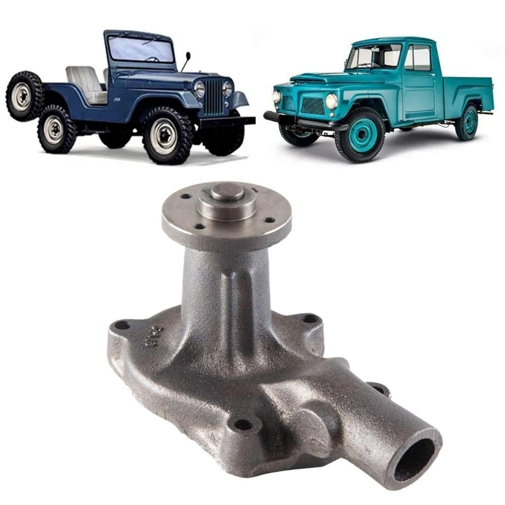 Bomba Dágua Willys F75 Jeep Rural 6 Cilindros 60/76