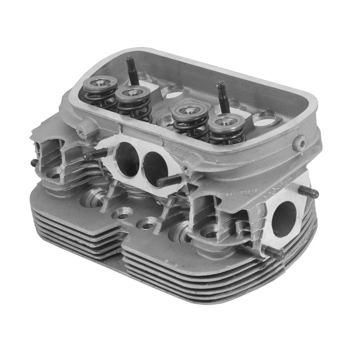Cabeçote motor Gol BX 1600 81 a 86 - 6 Aletas Tork Moderno