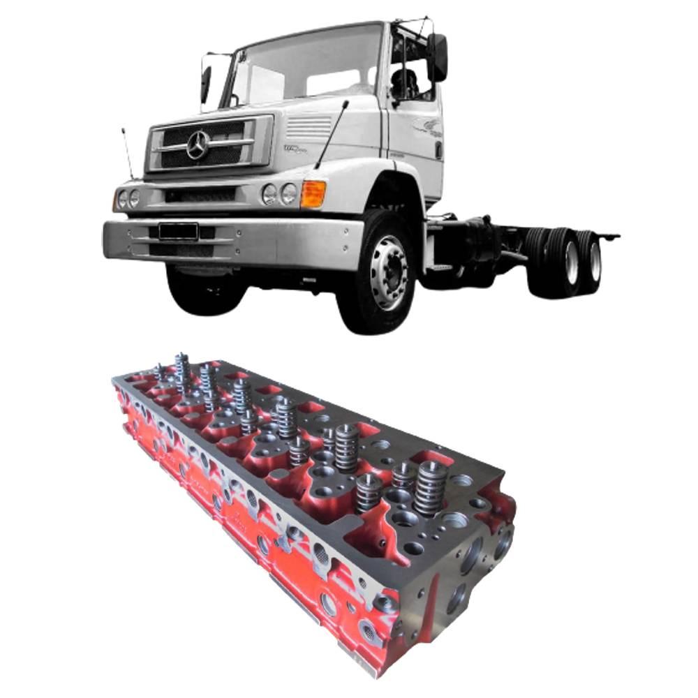 Cabeçote Motor MB 1620 C/ TopBrake OM 906/926 LA c/ válvulas