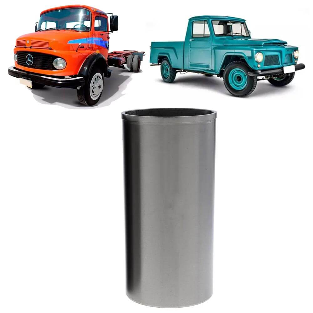 Camisa Cilindro MB 1111 Willys F75 Jeep Medida +0.020