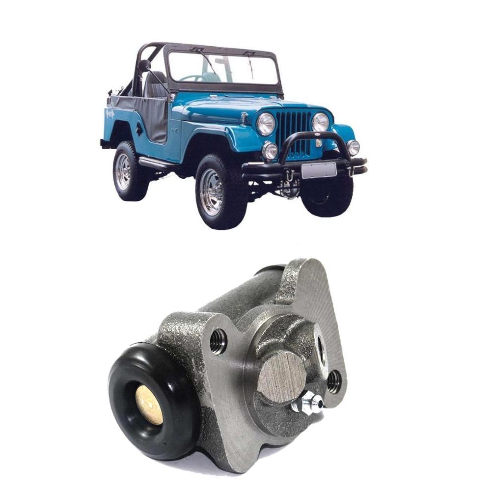 Cilindro roda Traseiro Willys Jeep Rural Esquerdo