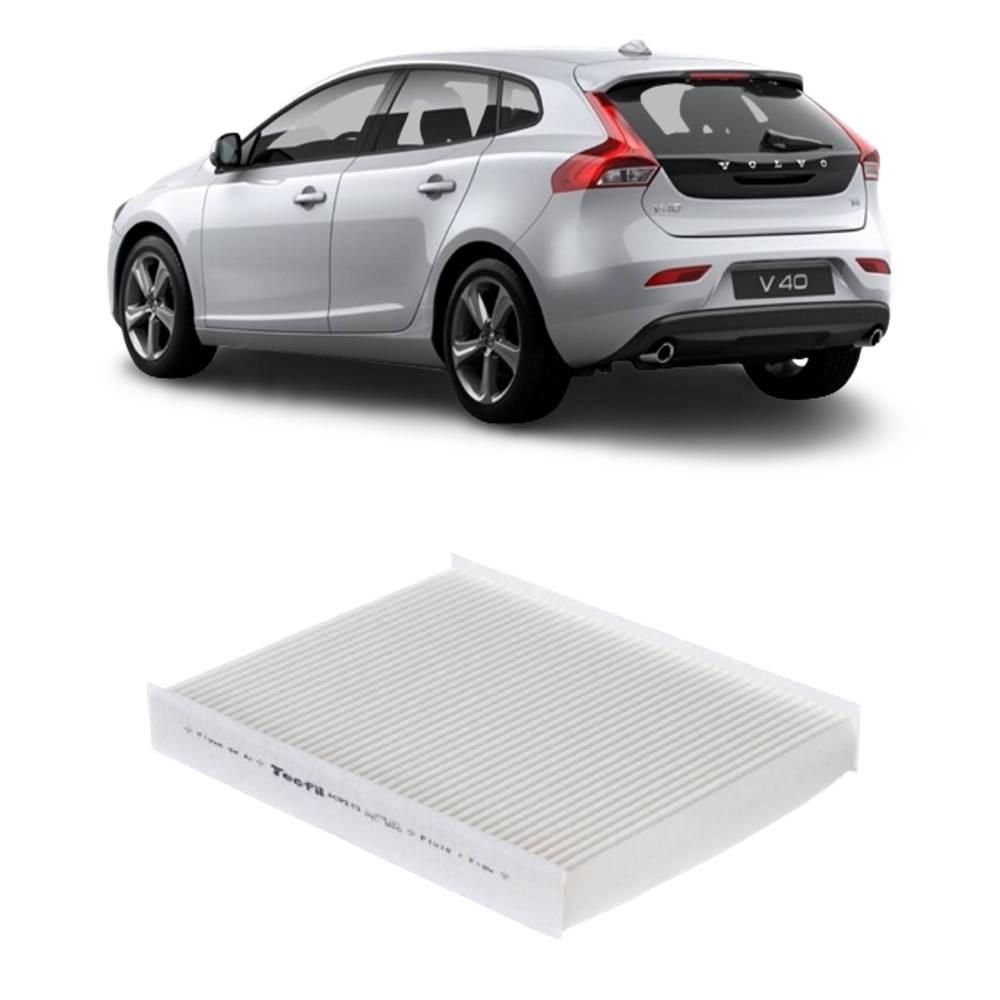 Filtro Ar Condicionado Volvo V40 2014 a 2020