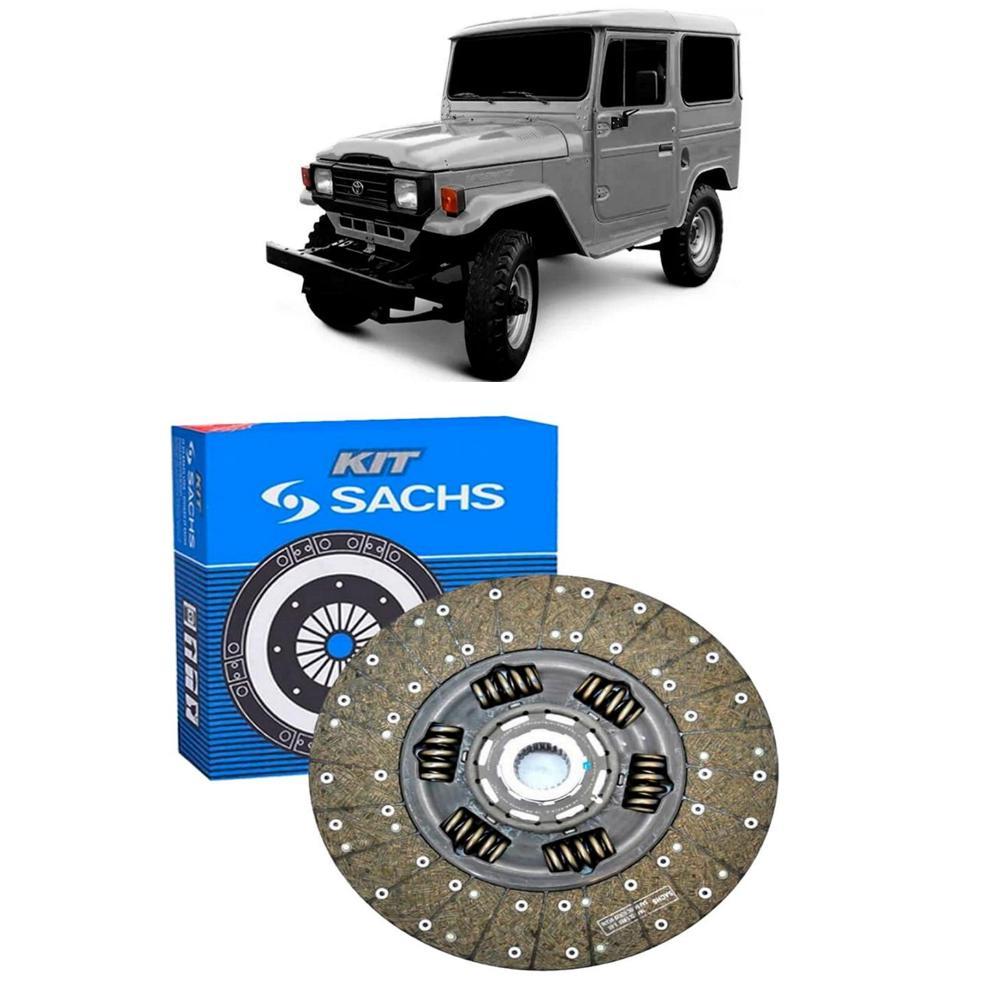 Disco Embreagem Bandeirante motor MB até 1993 280mm SACHS