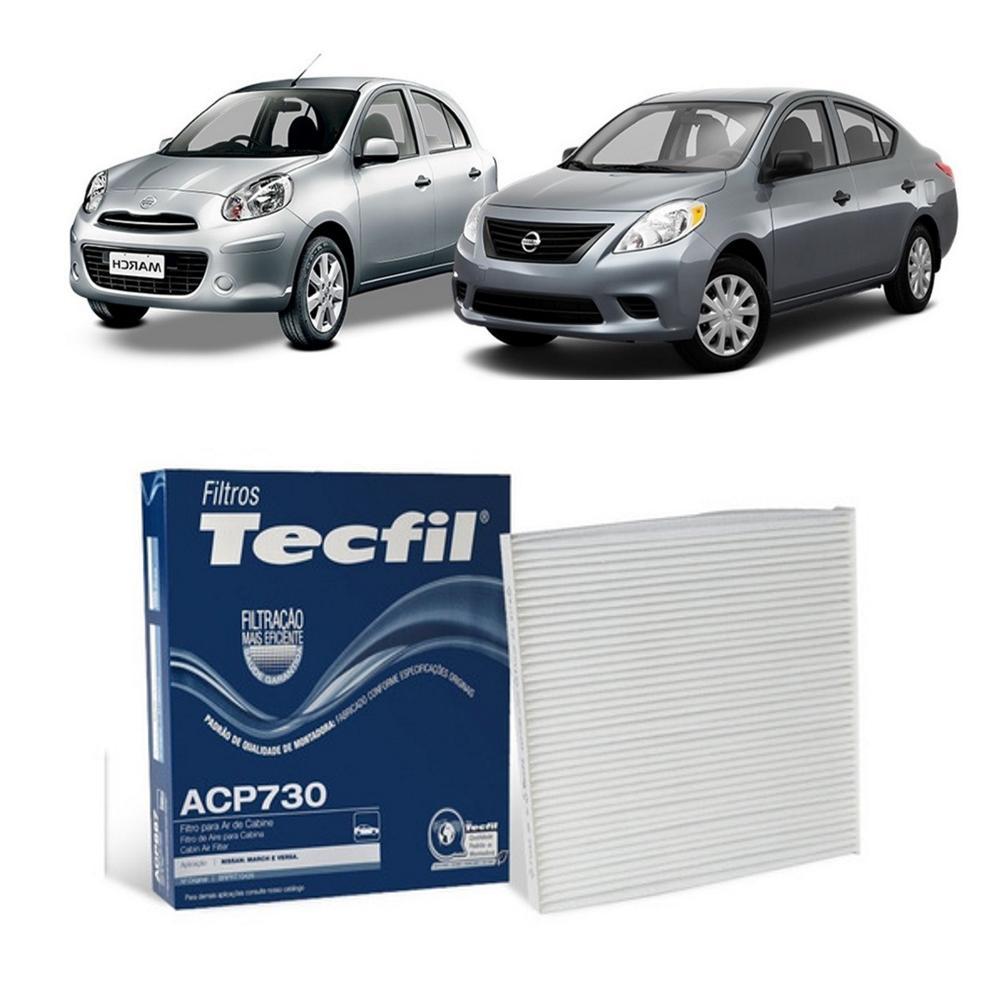 Filtro Ar Condicionado Nissan March Versa 1.0/1.6 2011/2020