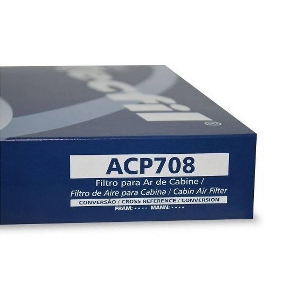 Filtro Ar Condicionado TECFIL ACP-708