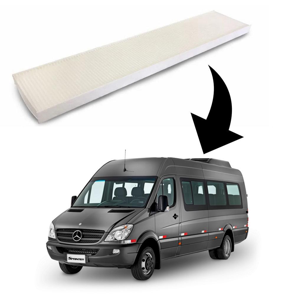 Filtro Ar Condicionado Teto Sprinter CDI 2012 diante