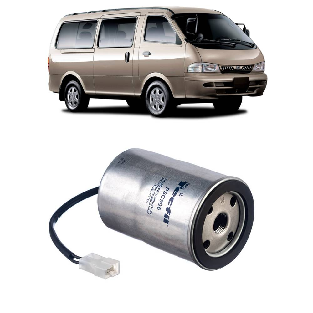 Filtro Combustível Kia Besta GS 2.7 Bongo K2700 97/2004