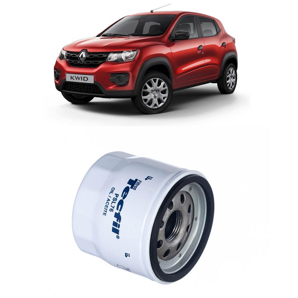 Filtro Óleo Renault Kwid 1.0 12V 2017 em diante