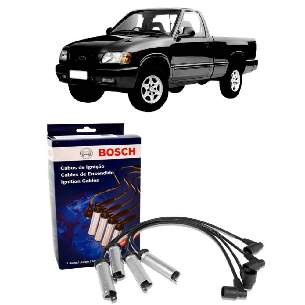 Jogo Cabos Vela Chevrolet S10 e Blazer 2.2 EFI 97 a 99 Bosch