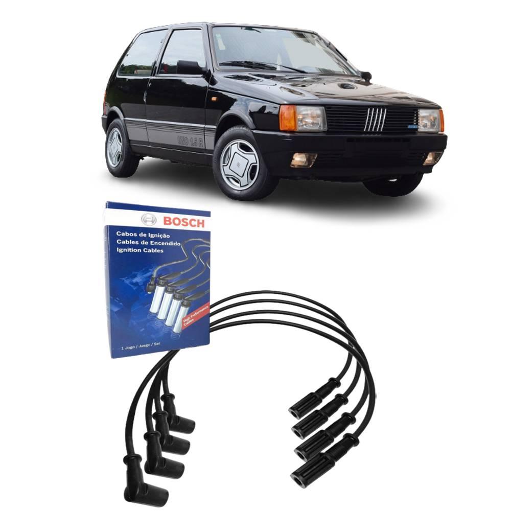 Jogo Cabos Vela Fiat Uno 1.6 Carburado 91 a 94 BOSCH