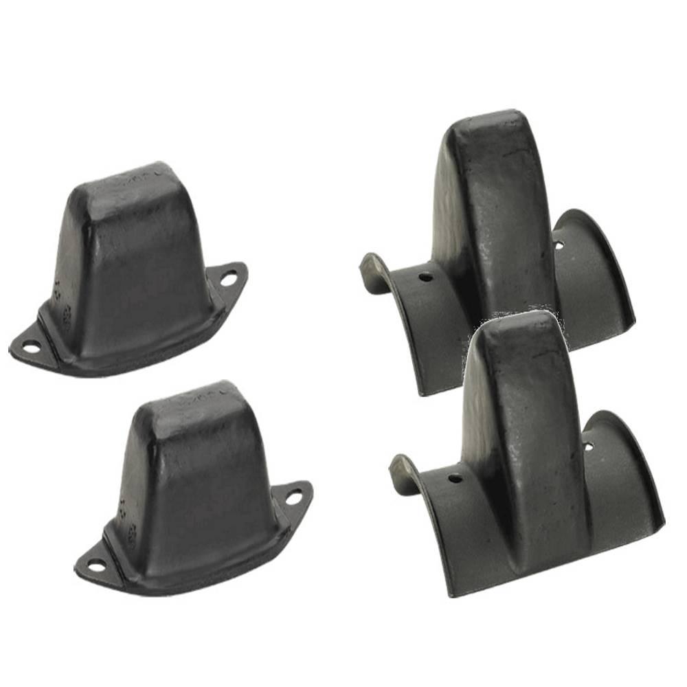 Kit Batentes de Mola Toyota Bandeirante Dianteiro+Traseiro