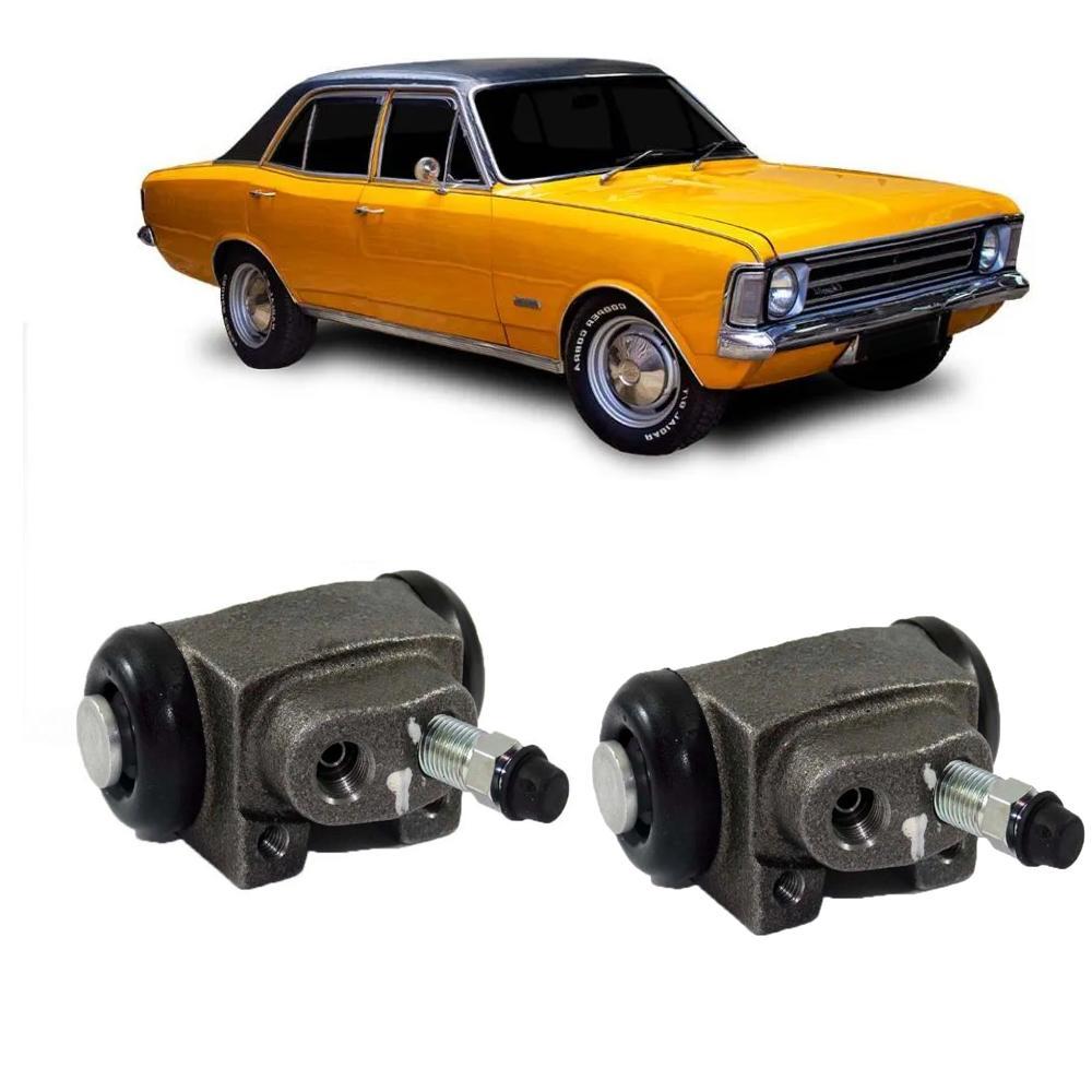 Kit Cilindro de Roda Traseiro Caravan e Opala 1971 a 1978