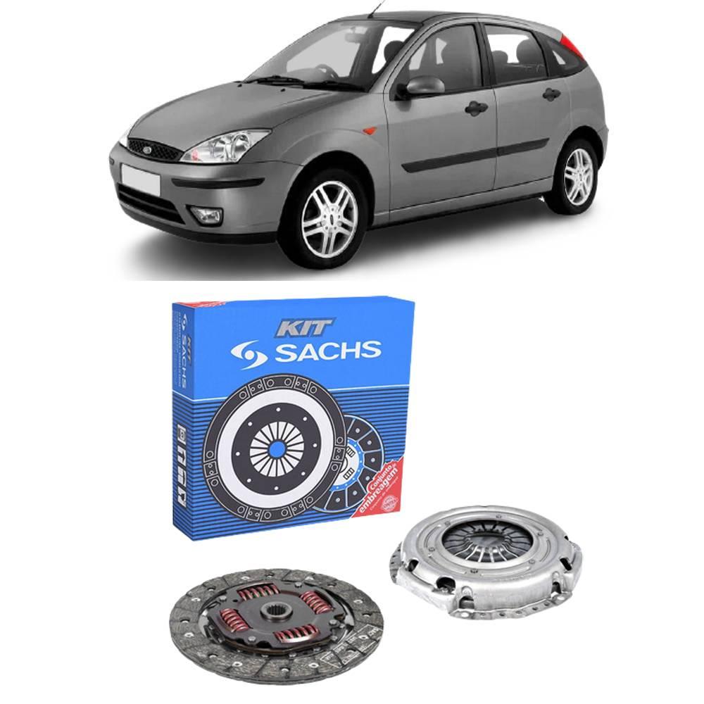 Kit Embreagem Ford Focus 1.6 Zetec 2003 a 2009 - SACHS