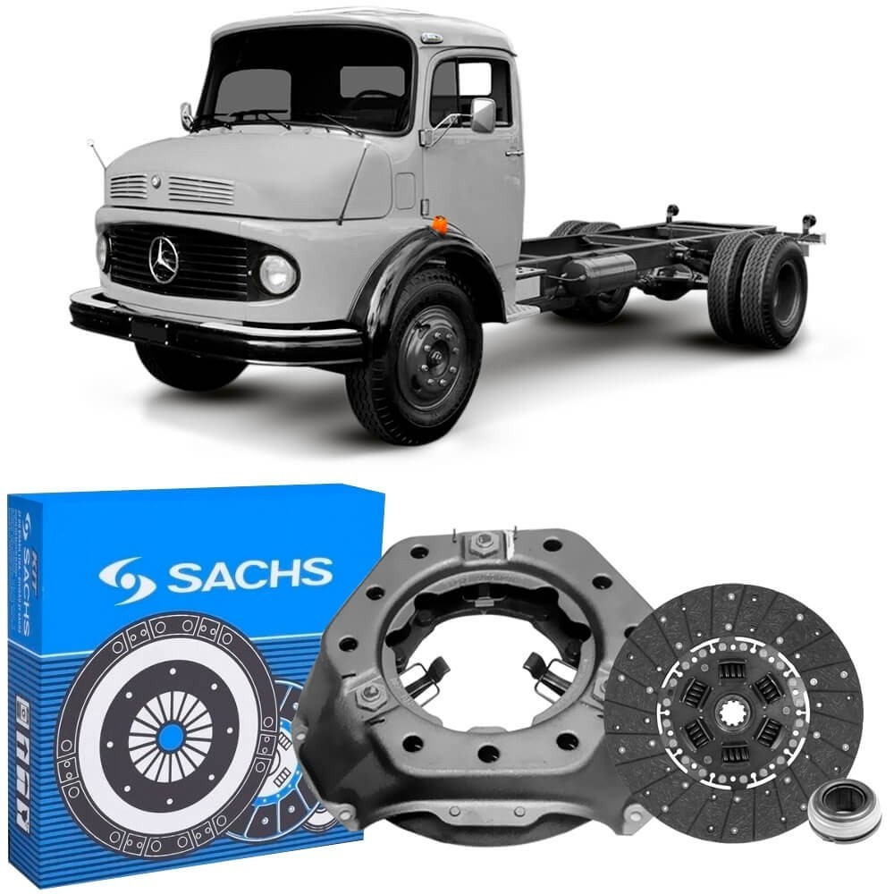 Kit Embreagem MB 1111 1113 1313 1114 (280mm) Sachs 6106