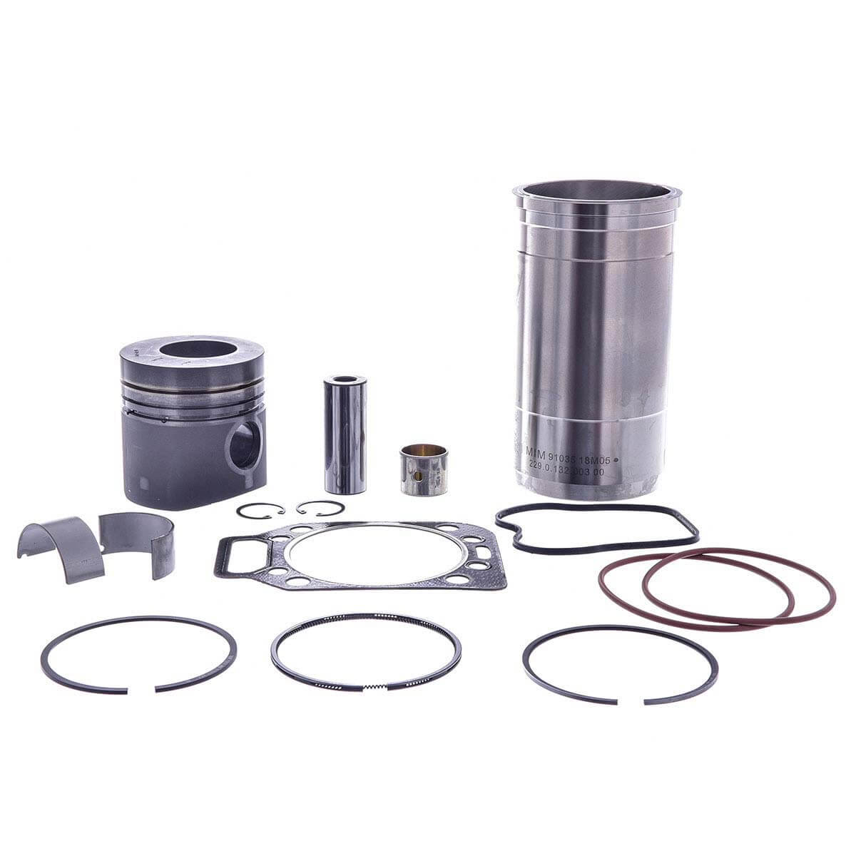Kit Motor MWM 229 Todos F1000 7110s 0.25 C/ Bronzina