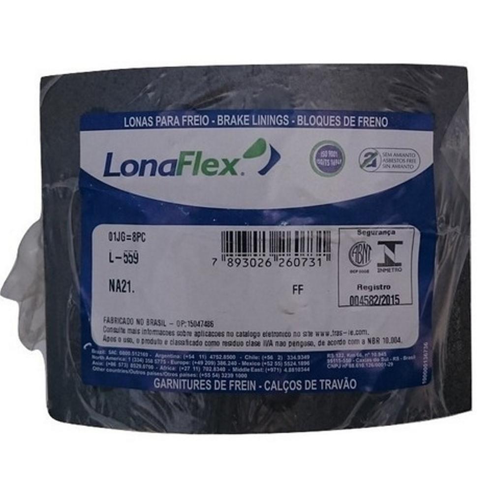 Lona Freio 9150/10160/1119 Traseiro L-559