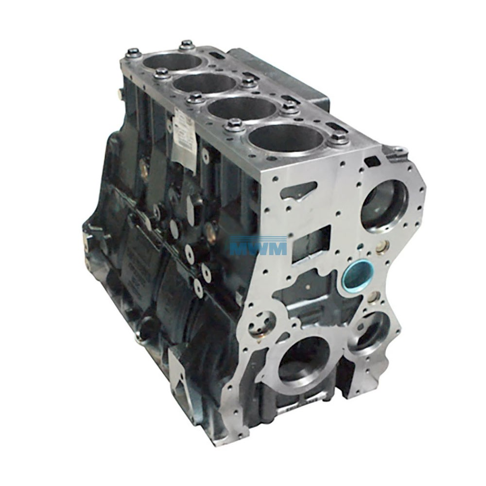 Motor Parcial 13180 15180 Volare MWM X12 4.12tce 4 Cil.