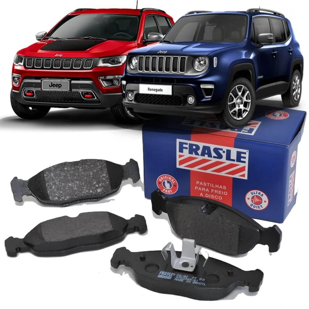 Pastilha Freio Jeep Compass 17/ Renegade 15/ Traseiro