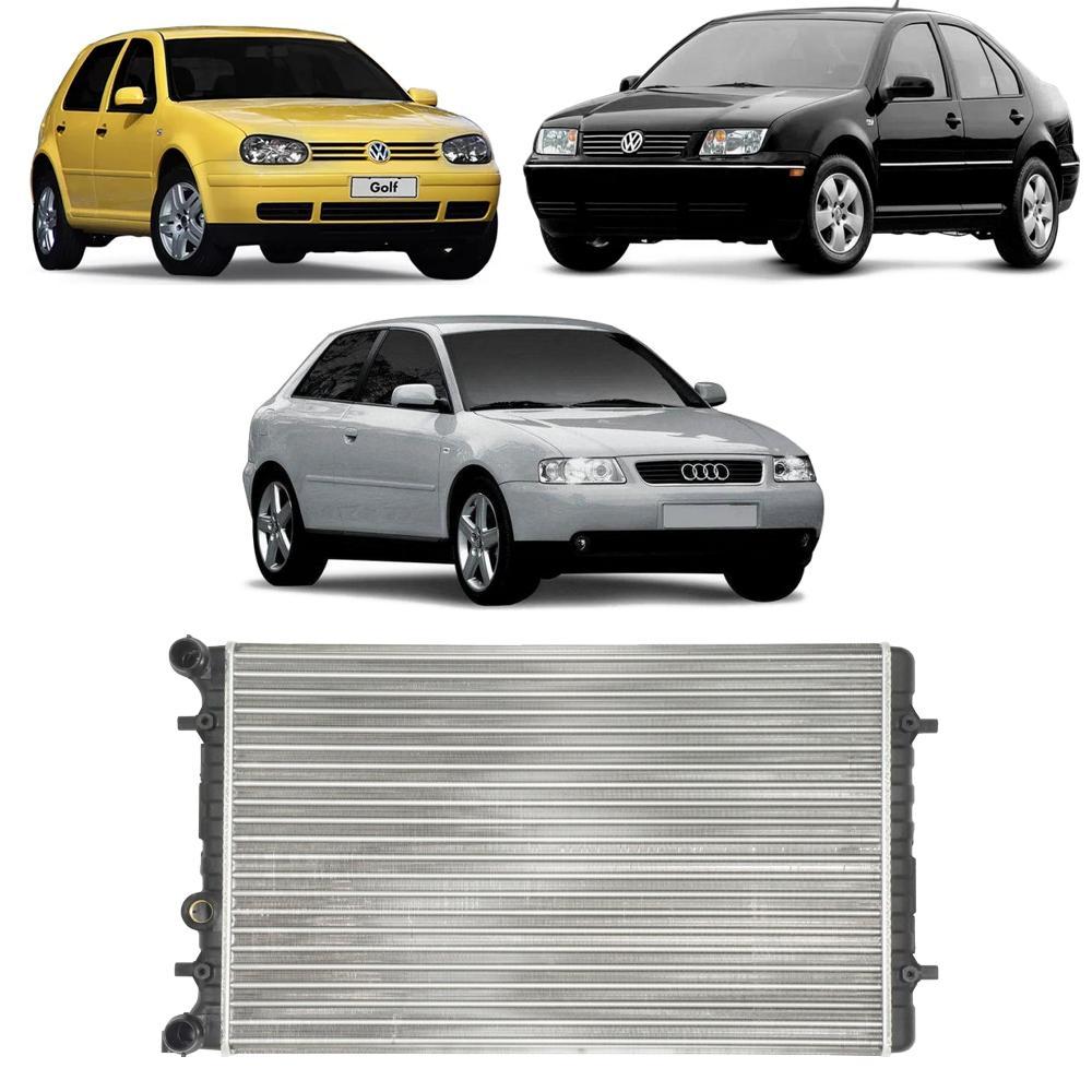 Radiador Audi A3 1.6/1.8 99/2007 Bora Golf 1.6/2.0 99/06