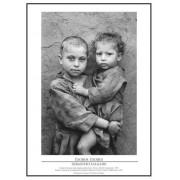 Pôster Coleção Êxodos Sebastião Salgado – Retrato de Crianças Nº 09