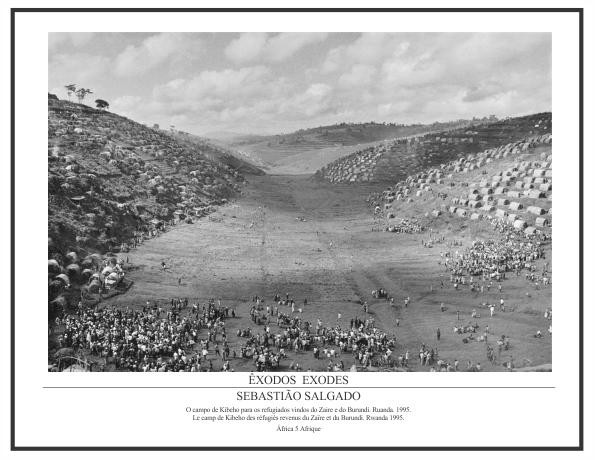 Pôster Coleção Êxodos Sebastião Salgado – África Nº 05