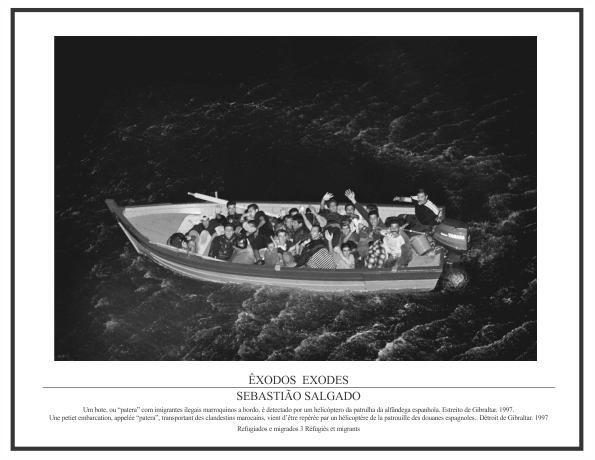 Pôster Coleção Êxodos Sebastião Salgado – Refugiados e Migrados Nº 03