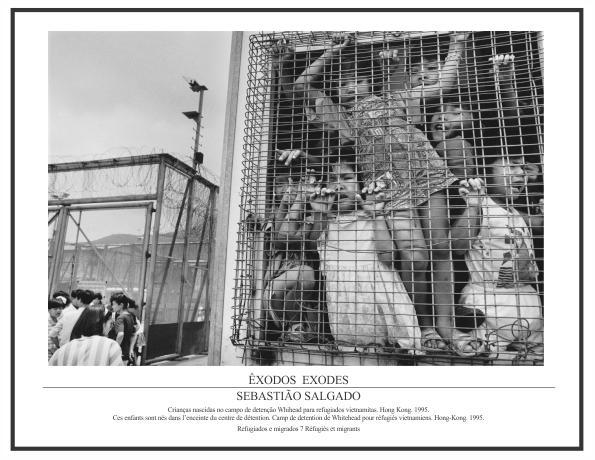 Pôster Coleção Êxodos Sebastião Salgado – Refugiados e Migrados Nº 07