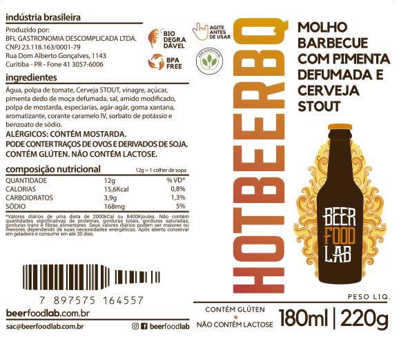 Kit Presente Molhos 180ml