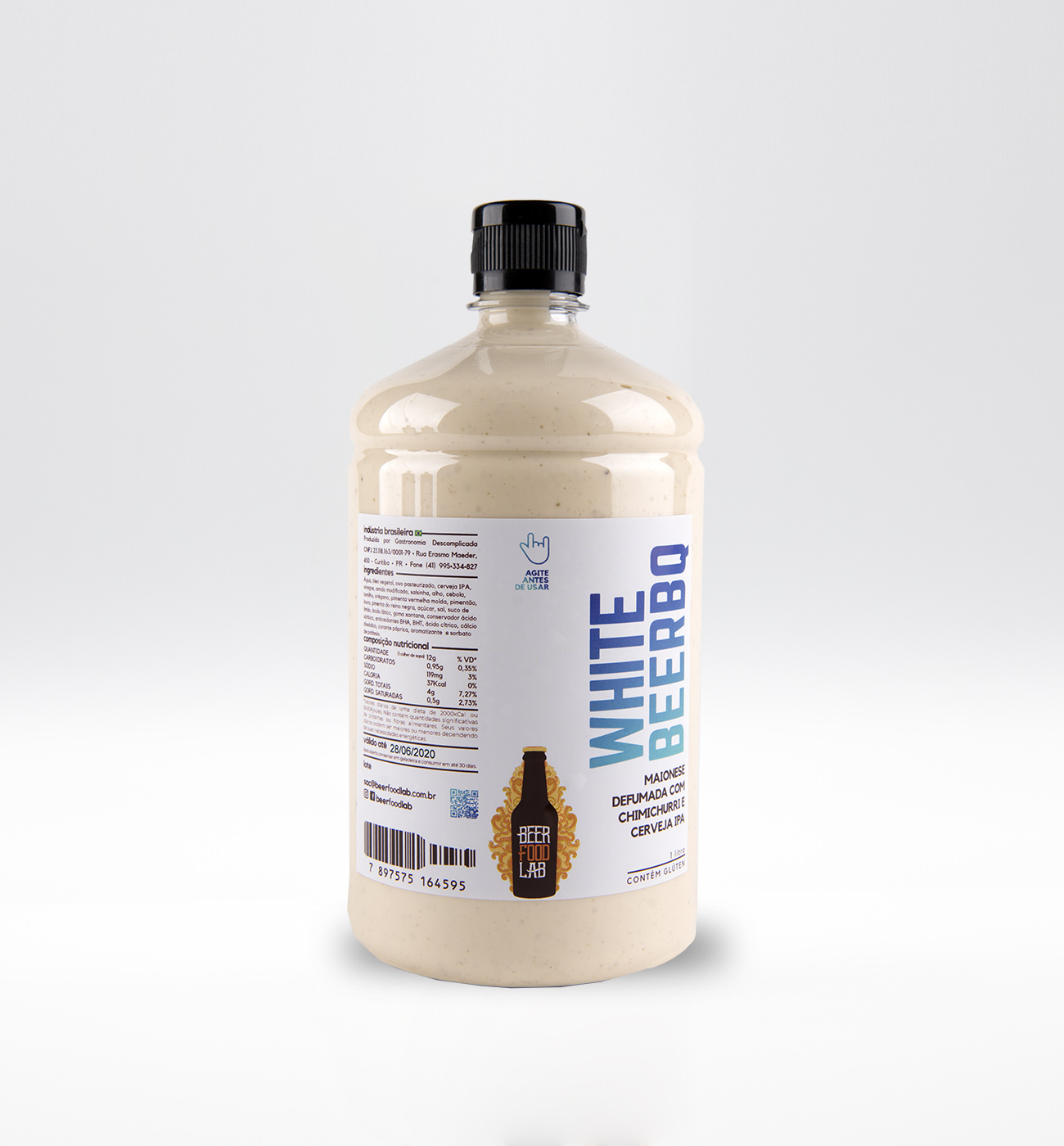 WhiteBBQ 01 litro