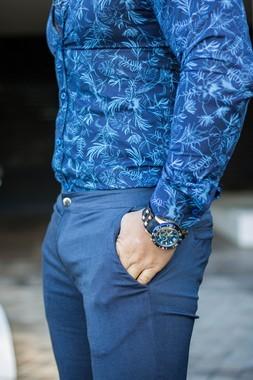 Calça Bengaline Jeans Ultra Skinny Power Elastano