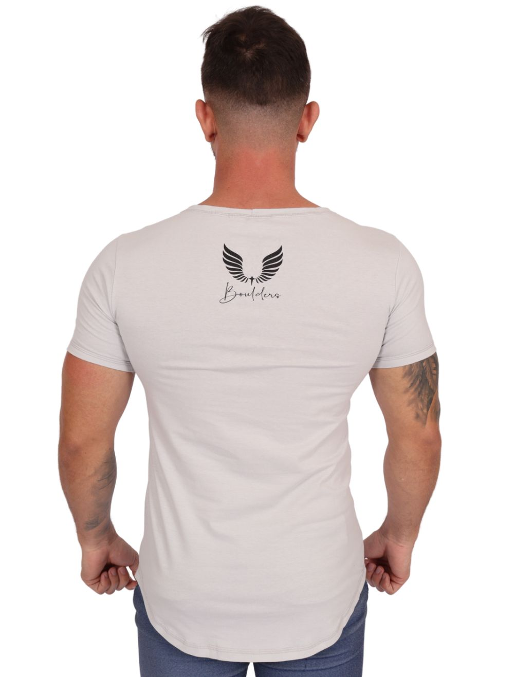 Camiseta Masculina Estampada Longline Sim Censored