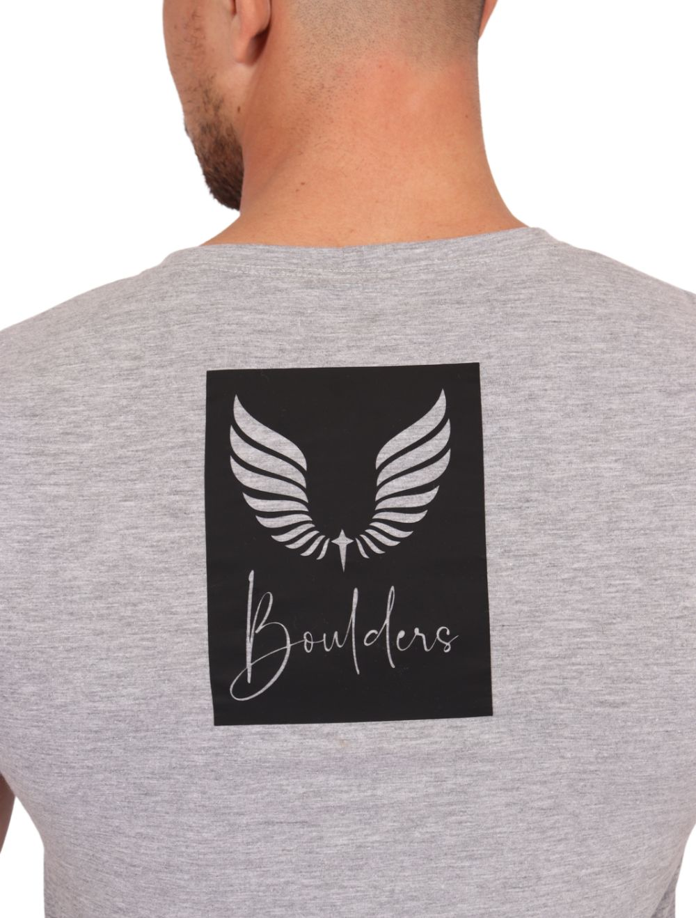 Camiseta Masculina Manga Curta Estampada Blessed