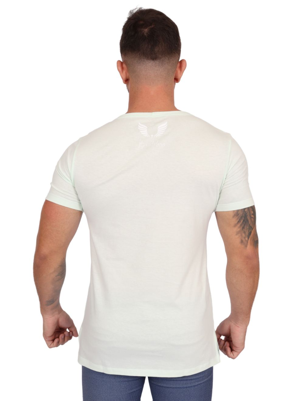 Camiseta Masculina Manga Curta Verde Since 2017