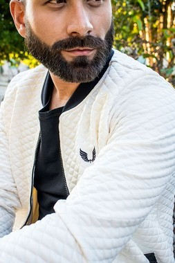 Jaqueta Matelassê Branca