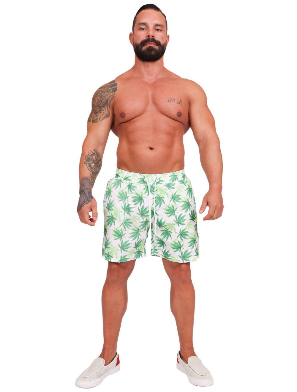 Short Praia Masculino Hemp