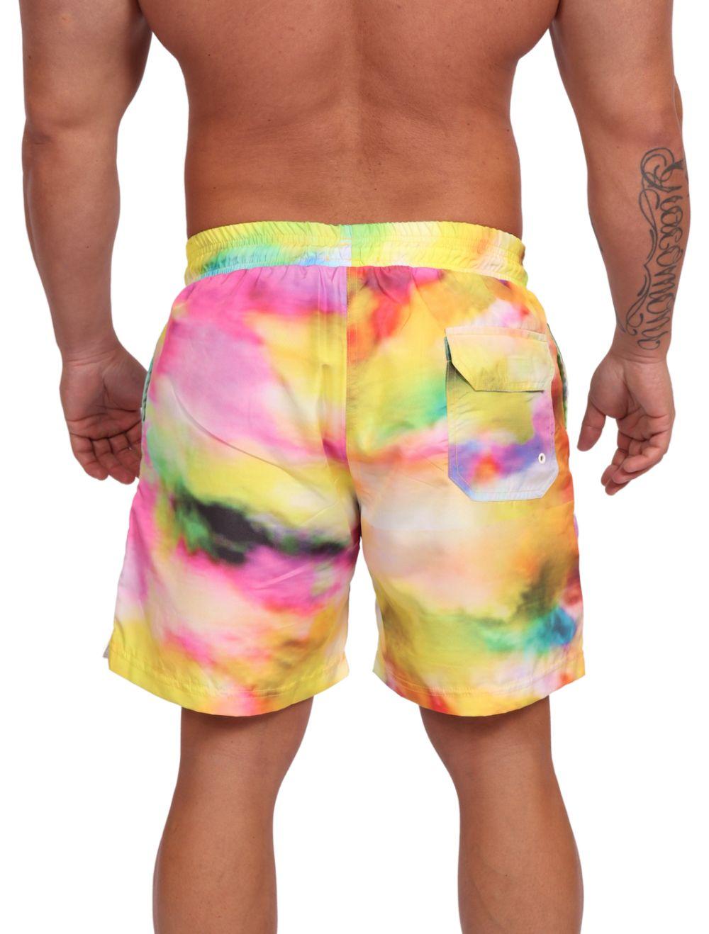Short Praia Masculino Tie Dye