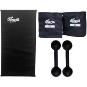 kit musculacao halter peso para braços halteres 2 kg tornozeleira peso caneleira de peso 2 kg colchonete de academia